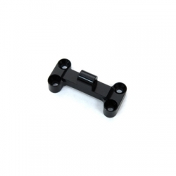 CNC Machined Aluminum HD Front Bumper Mount for EXO Buggy (Black)
